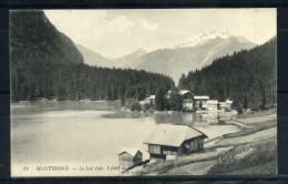 MONTRIOND . Le Lac . Voir Recto - Verso  (S728) - France