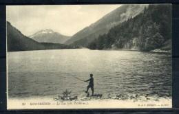 MONTRIOND . Le Lac , Pécheur . Voir Recto - Verso  (S730) - France