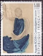 FRANCE  1990  -  Y&T  2636  -  Rodin  - Oblitéré - Cote 1.25e - Frankreich