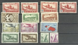 France Colonies 1933/42 Aviation, MNH AG.064 - France (ex-colonies & Protectorats)