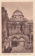 PC Vue De Palestine - Jerusalem - Saint Sépulcre - Facade (6283) - Israel