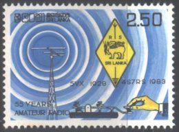 SRI  LANKA  - AMATEUR   RADIO  SOCIETY  - **MNH  - 1983 - Archaeology