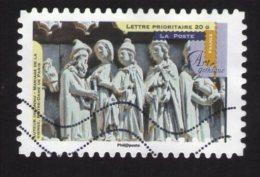 FRANCE 2013 Oblitéré Used Stamp Art Gothique Mariage De La Vierge Notre Dame De Paris Y&T 883 - 2010-.. Matasellados