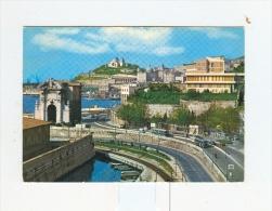 ANCONA,panorama E JOLLY Hotel-1966-BUS-Benzina SHELL-!!!!!!!!!!! - Ancona