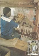 South West Africa 1986 Swakara, 20c Hand Loom, Maximum Card - Unclassified