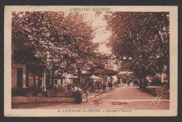 DF / 34 HERAULT / LAMALOU-LES-BAINS / AVENUE CHARCOT / CIRCULÉE EN 1931 - Lamalou Les Bains
