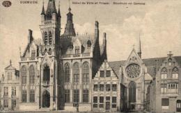 BELGIQUE - FLANDRE OCCIDENTALE - DIKSMUIDE - DIXMUDE - Hôtel De Ville Et Prison - Stadhuis En Gevang. - Diksmuide