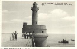 BELGIQUE - FLANDRE OCCIDENTALE - ZEEBRUGGE - Le Phare Du Môle - Het Lichthuis Van De Muur. - Zeebrugge
