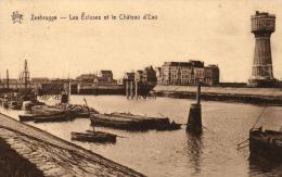 BELGIQUE - FLANDRE OCCIDENTALE - ZEEBRUGGE - Les Ecluses Et Le Château D'Eau. - Zeebrugge