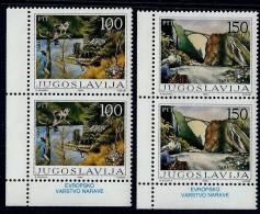 Yugoslavia 1986: European Nature Protection. MNH(**) - 1945-1992 Repubblica Socialista Federale Di Jugoslavia