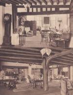 CHIDDINGFOLD -THE CROWN INN. 2 INTERIOR CARDS - Surrey