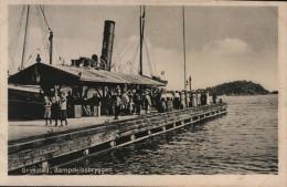 Grimstad. Dampskibsbryggen - Norvegia