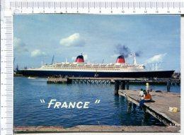 """""""  FRANCE  """"  -  Compagnie Générale Transatlantique - Piroscafi"""