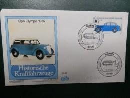 43/035   LETTRE DDR - Auto's