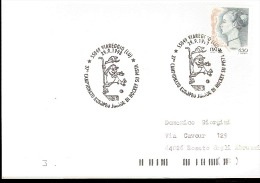 Cartolina Viaggiata Campionato Europeo Junior Di Hockey Su Pista Viareggio 1998 - Hockey (su Erba)