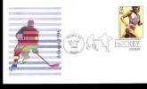 ATLANTA 1996 BUSTA CON AFFRANCATURA ED ANNULLO SPECIALE  HOCKEY - Hockey (su Erba)