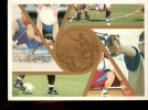 POSTAL CARD ITALIA 98 ARCO VOLLEY HOCKEY CALCIO - Hockey (su Erba)