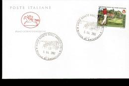 2003 ANNULLO FDC Centenario Della Fondazione Del Circolo Del Golf Roma Acquasanta. - Golf