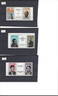 Cameroun, La Série Gandhi, Luther King, Kennedy, RARE - Camerun (1960-...)