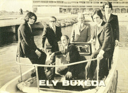 Ely Buxeda  Cp Format 10-15 - Chanteurs & Musiciens