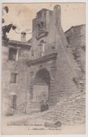 CRILLON LE BRAVE : PORTE GERIN - EDITION BRUN CARPENTRAS -ECRITE 1936-2 SCANS- - Other Municipalities