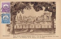 Hongrie - Budapest - Szent Istvan Templom Budarol Nézve - Basilique St Etienne - Hungary