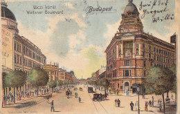 Hongrie - Budapest - Vaczi Körut - Waitzner Boulevard  - Postmarked 1902 Budapest Klagenfurt - Hungary