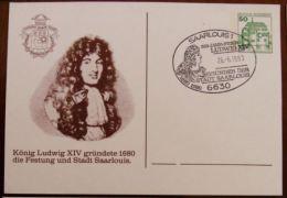 Louis XIV Fondateur De La Ville Et De La Forteresse De Sarrelouis - Royalties, Royals