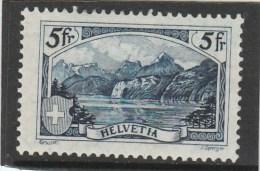 SUISSE - YVERT N° 230 * DEFECTUEUX (LEGER AMINCI) - COTE = 150 EUROS - - Suisse