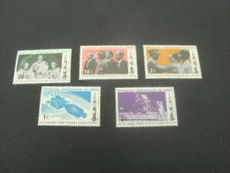 F6178- Set  MNH  Rep. Dem. Du Congo- 1970- SC. 698-702- Visit Ao US Apollo 11 Astronauts And Wives To Kinshasa