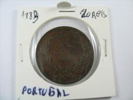 PORTUGAL 20 REIS 1883  COIN  HIGH GRADE   LOT 30 NUM 4 - Portugal