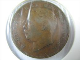 PORTUGAL 10 REIS 1886  COIN  HIGH GRADE   LOT 30 NUM 5 - Portugal