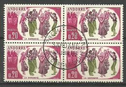 ANDORRA- ESTES SELLOS O SIMILARES MATESELLADOS DE PRIMER DIA C.M. ABAD Nº 166 (ESTOC -C.07.14) - Andorra Francese