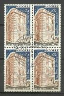 ANDORRA- ESTES SELLOS O SIMILARES MATESELLADOS DE PRIMER DIA C.M. ABAD Nº 174 (ESTOC -C.07.14) - Andorra Francese