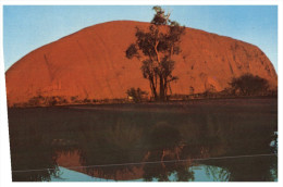 (555) Australia - NT - Ayers Rock QANTAS Postcard - Uluru & The Olgas