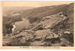 CPA - BELGIQUE -  MALMEDY - Le Rocher De Falise Sur La Warche -