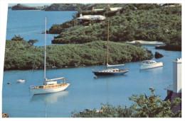 (555) Bermuda QANTAS Postcard - Bermuda