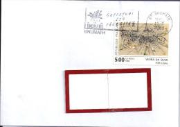 YT  2835 SSL  FRANCE OBL FLAMME BRUMATH - Marcophilie (Lettres)