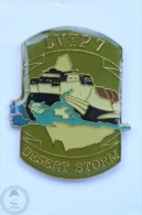 LVTP 7 Amphibious Tank - Desert Storm Army - Pin Badge #PLS - Militares