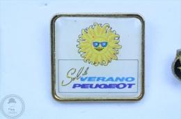 Summer Peugeot  Advertising Spain - Sol Y Verano Peugeot -  Pin Badge #PLS - Peugeot