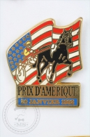 Prix De Amerique 26 Janvier 1992 - Signed Starpins -  Pin Badge #PLS - Juegos