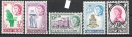 Cayman Islands 1962 Definitives MNH CV £91 (2 Scans) - Cayman Islands