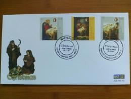 2007 Malta / Vatican Joint Christmas Maltese FDC (Art)(Religion) - Joint Issues