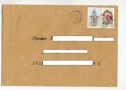Lettre Cachet Thenac Sur Biron Chappe - Postmark Collection (Covers)