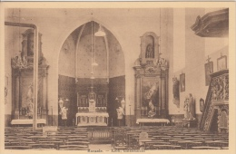 Ronsele  Kerk, Binnenzicht             Scan 7970 - Zomergem