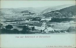 67 SCHIRMECK / Vue Sur Schimeck Et Barembach / - Schirmeck