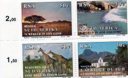 P - 1990 Sud Africa - Tourism - Ungebraucht