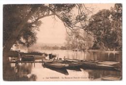 CP, 94, LA VARENNE, La Marne Au Pont Du Chemin De Fer, Voyagé En 1916 - France