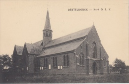 Desteldonk   Desteldonck      Kerk OLV         Scan 7973 - Gent