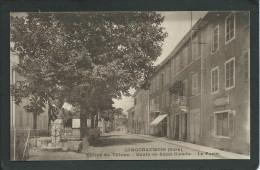 39. LONGCHAUMOIS   (JURA). ENTREE DU VILLAGE.. LA POSTE..ROUTE DE ST- CLAUDE...C1638 - Autres Communes